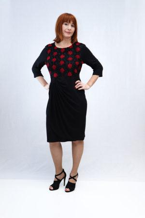 zenska haljina 3197449 crna naprijed