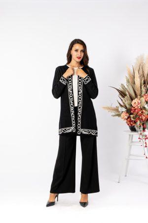 Jesen/zima 2021 ženski ogrtač 12171080 bijeli uzorak